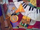 Clases de piano y de canto.