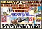 Almanaques 2017 ¡Promocionate o Revende!