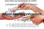Crédito en la cantidad  5.000 a 500000€