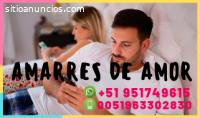 AMARRES DE AMOR CON PODEROSOS HECHICEROS
