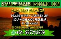 AMARRES DE AMOR, DEJA DE SUFRIR Y LLORAR