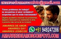 AMARRES DE AMOR ETERNO/TEMPORALES