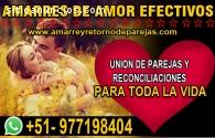 AMARRES DE AMOR, RECONCILIACIONES