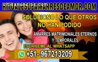 AMARRES DE AMOR, SALDRÁS DE PROBLEMAS