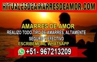 AMARRES DE AMOR Y BRUJERÍA CON MAESTRO