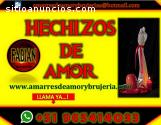 AMARRES Y HECHIZOS PODEROSOS 100% EFECTI