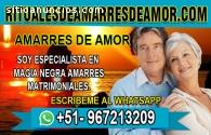 AMARRES Y RITUALES CONYUGALES