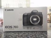 Cámara réflex digital Canon EOS 70D 20.2
