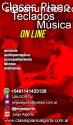 Clases ON LINE Piano, Teclados y Música