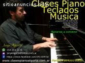 CLASES PARTICULARES  PIANO,TECLADOS