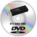 DVD a Pendrive.