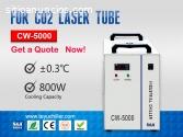 Enfriador de agua industrial CW-5000