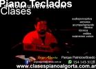 ENSEÑANZA PIANO, TECLADOS, MUSICA