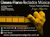 Enseñanza, piano, teclados, música