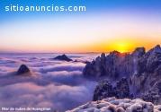 Explorar China con montaña Amarilla