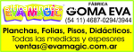 Fabrica Planchas Goma Eva – Eva Magic S.