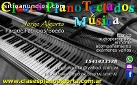 ÓRGANO, PIANO, TECLADOS, CLASES