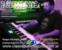 Piano, teclados, musica, clases