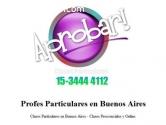 Profesores particulares Online