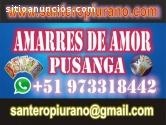 SANTERO DEL AMOR - UNIONES  Y RETORNOS
