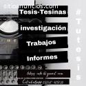 Tesis, Tesinas, Y Monografías - Servicio