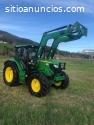 Tractor agrícola John Deere 6125R  Año: