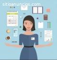 Asistente administrativo(a) virtual
