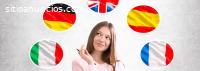Cursos de Ingles e Italiano