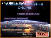 Grabacion Mezcla online!!!