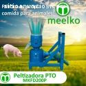 Máquina para pellets madera 200mm PTO