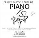 PROFESOR DE PIANO (+591) 73036731