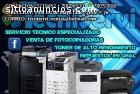 VENTA Y REPARACION DE FOTOCOPIADORAS