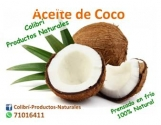 Aceites Naturales, Aceite de Coco, Venta