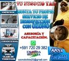 CANON DE OZONO PARA DESINFECTAR!!!