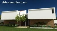 Moderna casa en venta en condominio.