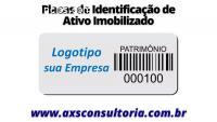 Placas e Tag's de identificação de Ativ