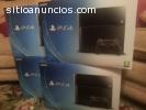 Sony Playstation 4 novos selados + 3 jog