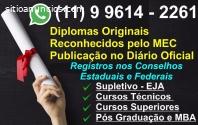 Venda de Diplomas Originais em Brasília