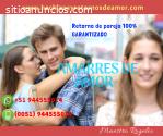 AMARRES DE AMOR, RETORNO DEL SER AMADO