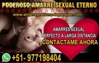 AMARRES SEXUALES 100% EFECTIVOS