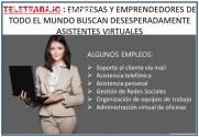 ASISTENTE DE EMPRESAS ONLINE DESDE CASA