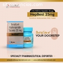Compre en línea Hepbest 25 mg Tablet