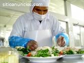 Curso Manipulación Alimentos (Intensivo)