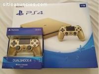 En venta Sony PS4 ORO 1TB console $150
