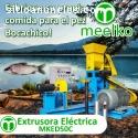 Extrusora Meelko para alimentación peces