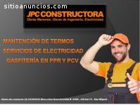Gasfiteria en PPR Y PVC-Mantencion de te