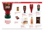 Ketchup Mayonesa BBQ kebab y otras salsa