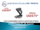 LECTOR QUICK SCAN LITE CABLE USB Y PEDES