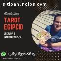 Lectura de las cartas del Tarot Egipcio