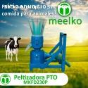 Máquina Meelko para pellets con madera 2